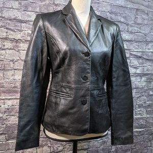 The Limited Ladies Leather Jacket Size 4